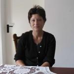 Cristina Sescu, asistent social în cadrul fundației Pacea