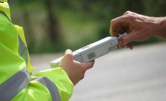 Depistat în trafic în timp ce se afla sub influența băuturilor alcoolice