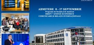 Comunicare şi Relaţii Internaţionale  Alege Universitatea « DANUBIUS »