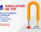 Târgul de joburi de la Iași oferă peste 1.200 de oportunități de carieră