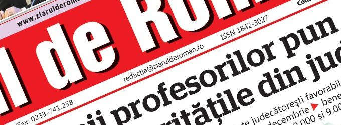 Ziarul de Roman nu se vinde şi nu se închide!