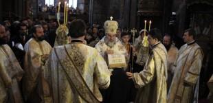 """""""Rămâneți în dragostea mea"""", popas aniversar la Catedrala Arhiepiscopală"""