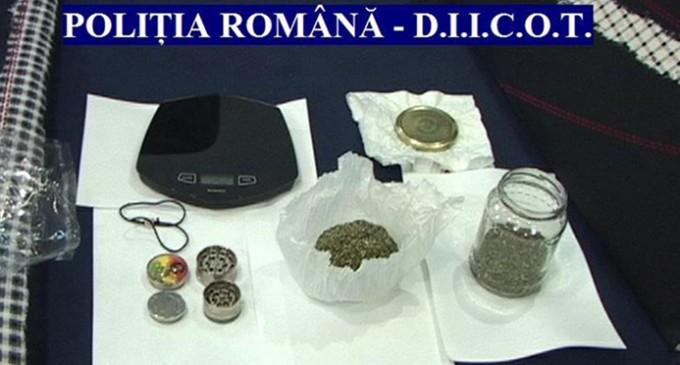 Romaşcani arestați preventiv pentru trafic de droguri