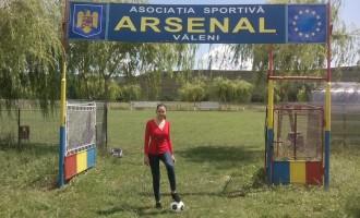 La 26 de ani, Cătălina Bordeianu conduce un club de fotbal