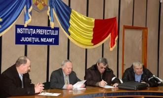 Protestul forestierilor nemțeni, mediat la Bucureşti