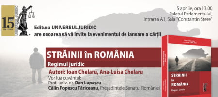 Invitatie lansare Straini in Romania
