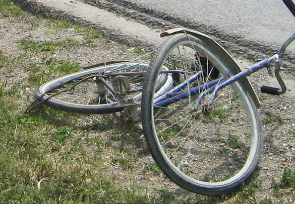 Biciclist accidentat grav la Horia