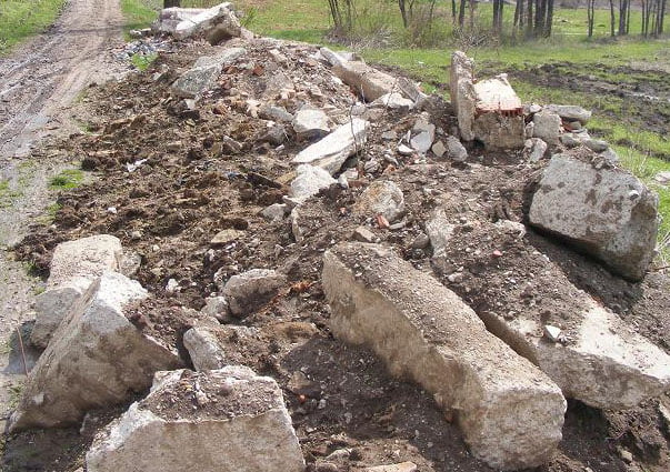 Amendă pentru depozitarea deșeurilor vegetale și din construcții pe domeniul public