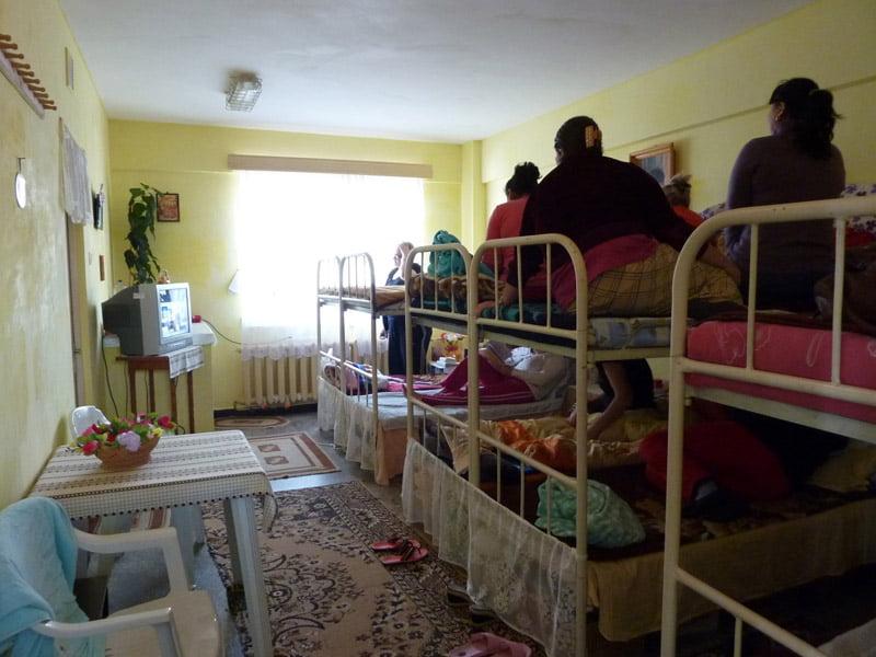 Pijamale de la deţinutele din Penitenciarul Bacău