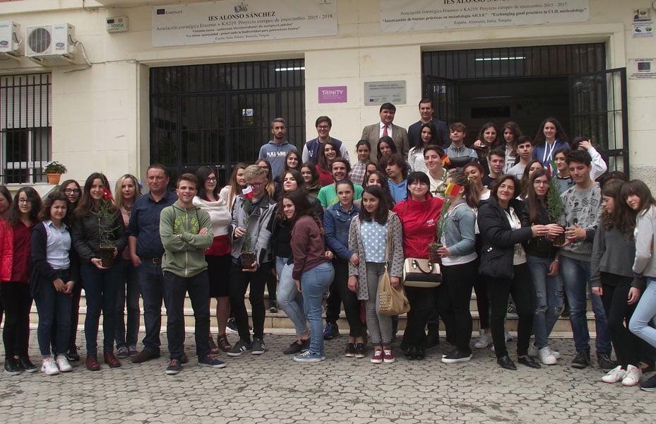 """Lecţii de mediu în Spania, pentru elevi şi profesori de la Colegiul Tehnic """"Danubiana"""""""