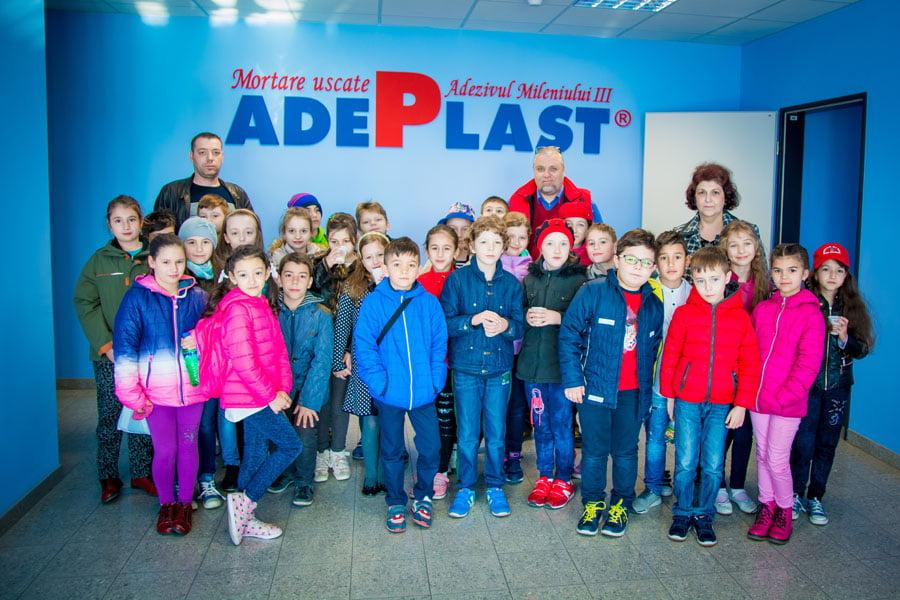 AdePlast, deschidere pentru educaţia tinerei generaţii