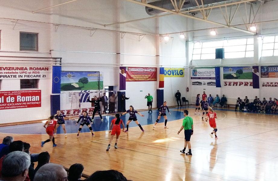 CSM Roman începe noul an în deplasare la Măgura Cisnădie