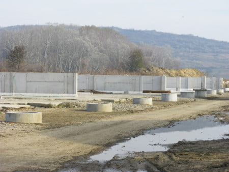 Lucrările la staţia de epurare au început în 2012