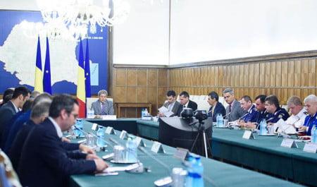 videoconferinta premier prim minitru Dacian Ciolos 21iunie