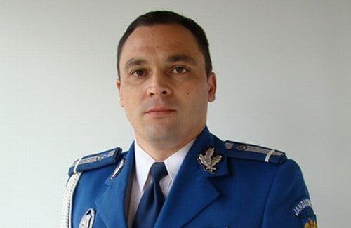 Maiorul Radu Olariu, noul comandant al Jandarmeriei Neamţ