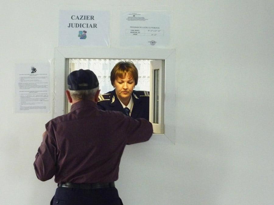 Sistemul de eliberare a cazierului judiciar a redevenit funcțional