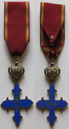 """Ordinul """"Mihai Viteazul"""" clasa a III-a, 1916"""