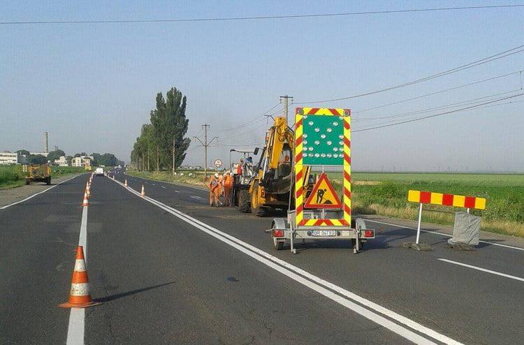 Lucrări pe drumurile naţionale. Care sunt drumurile pe care trebuie să circulaţi cu atenţie sporită