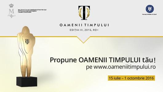 """Campania """"Oamenii Timpului"""", ediția 2016"""