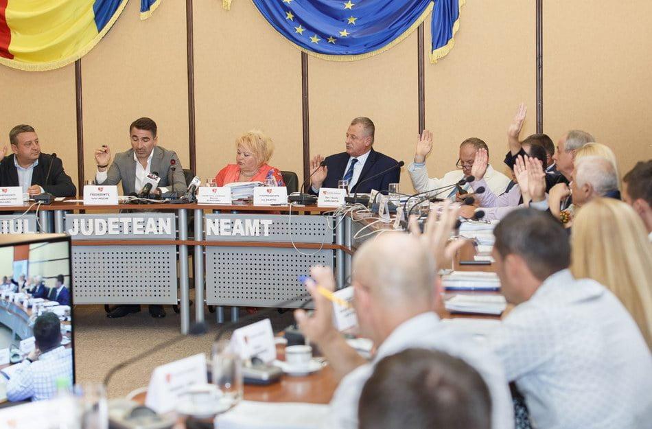 Toate proiectele din ședința Consiliului Judeţean au trecut
