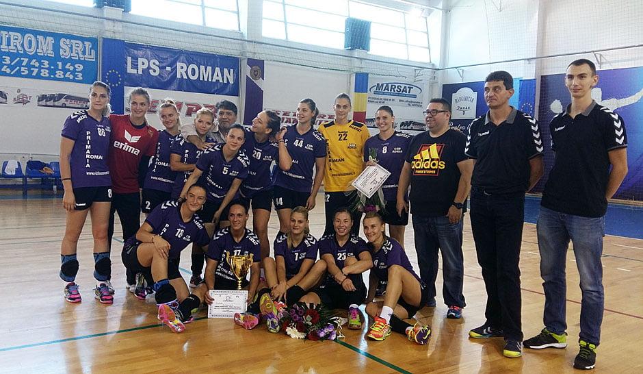 """CSM Roman a câştigat ediţia 2016 a Trofeului """"Roman Vodă Muşat"""""""