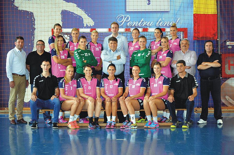 CSM Roman dispută Supercupa României, sâmbătă, împotriva campioanei CSM Bucureşti