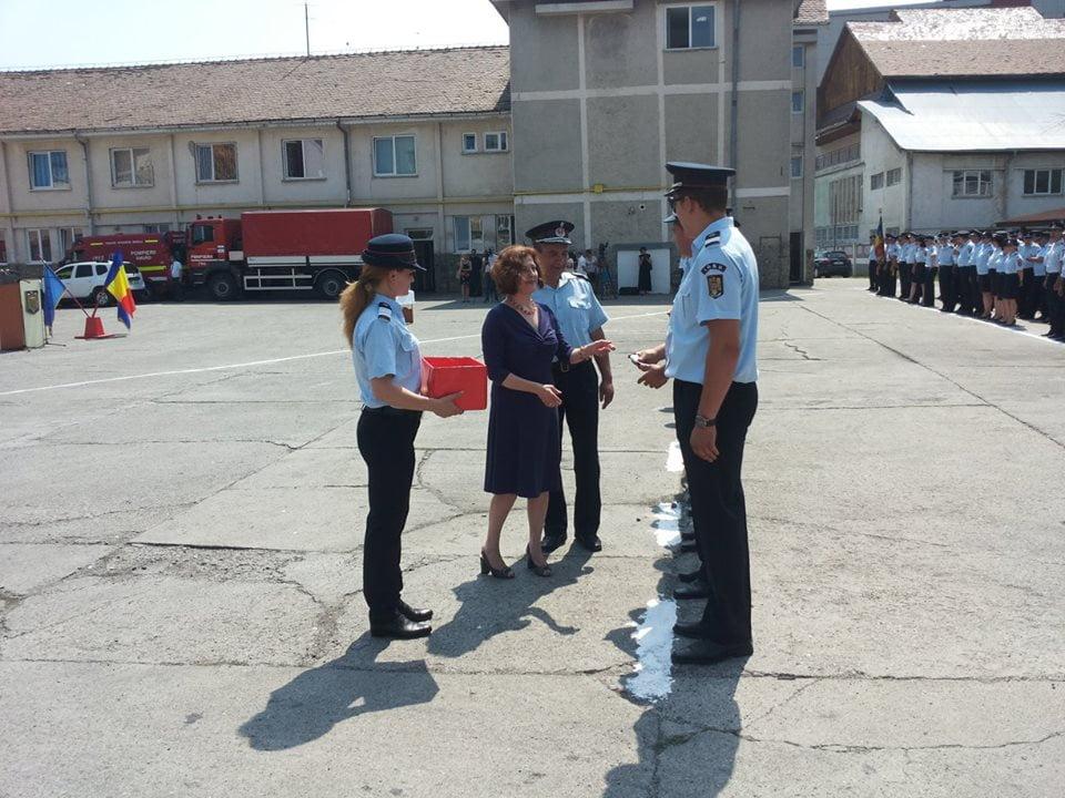 [FOTO] Avansări în grad la pompieri şi jandarmi, de 1 august