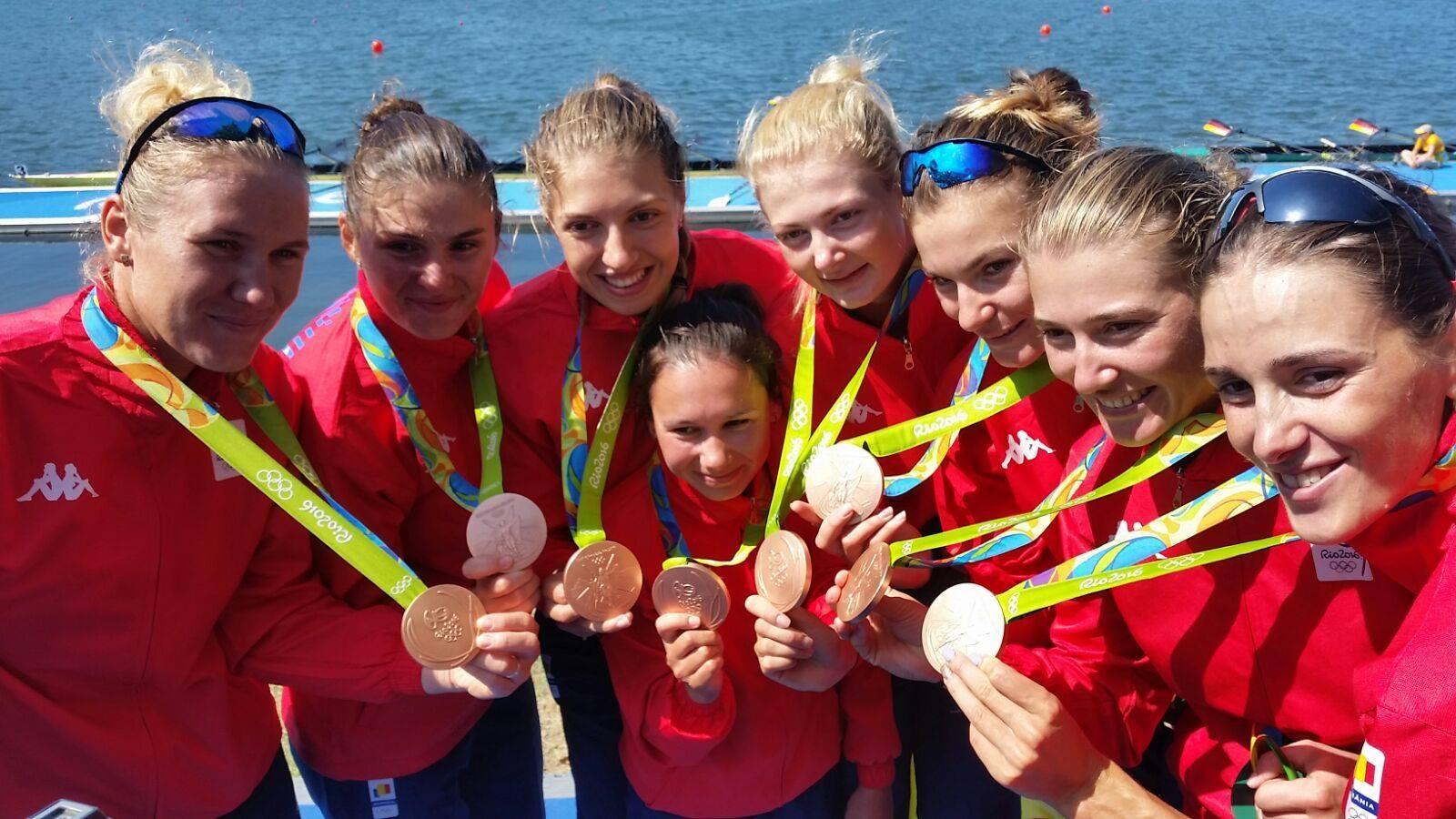 Canotoarea Laura Oprea, din Nisiporeşti, medalie de bronz la Olimpiada de la Rio!