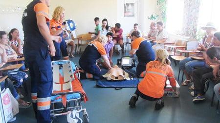 curs resuscitare copii dizabilitati ambulanta DGASPC 2