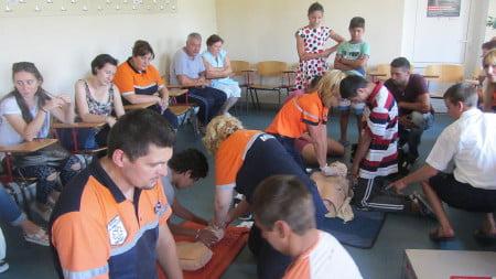 curs resuscitare copii dizabilitati ambulanta DGASPC 4