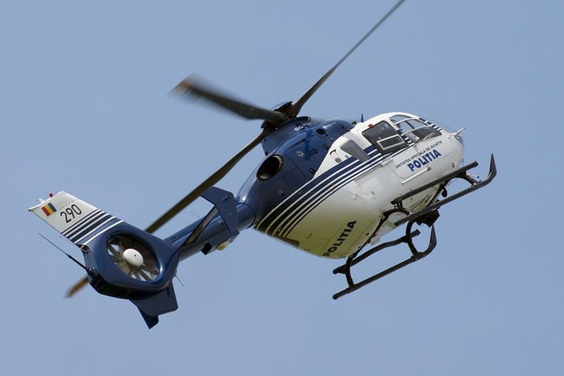 [VIDEO] Traficul rutier din judeţ, supravegheat din elicopter