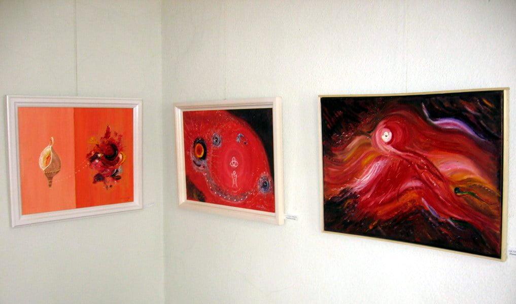 Spațiu expozițional pentru artiștii locali, în Pietonal