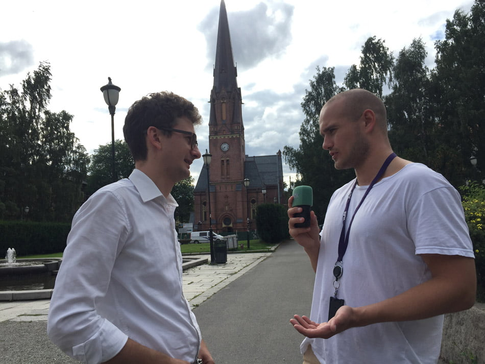 Iulian Bulai, la televiziunea națională din Norvegia: despre români, rromi și cerșetori
