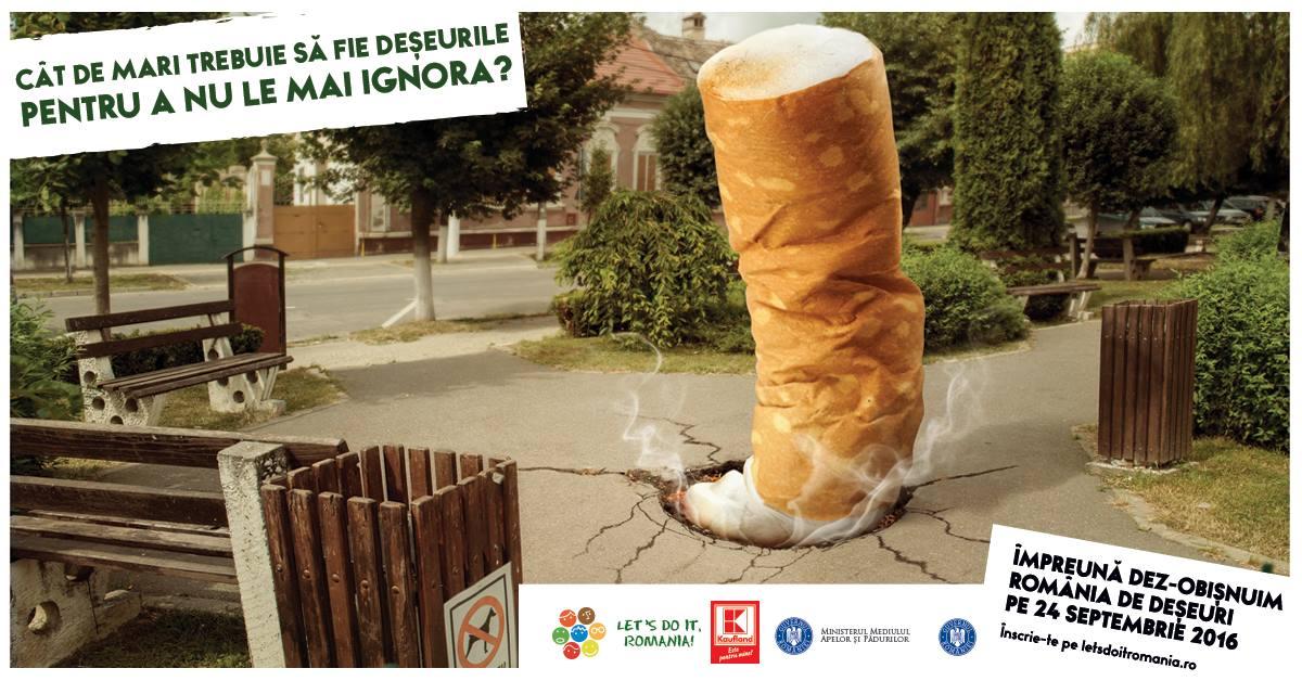 """""""Let's Do It, Romania!"""" vine cu premii de 5.000 de euro"""