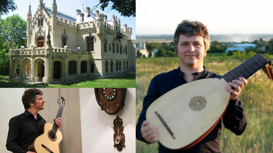 Recital de chitară şi lăută la Castelul Miclăuşeni