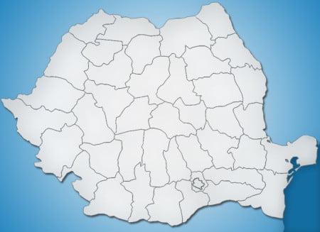 romania harta