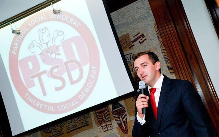 Alexandru Rotaru, înlăturat de la șefia Tineretului PSD