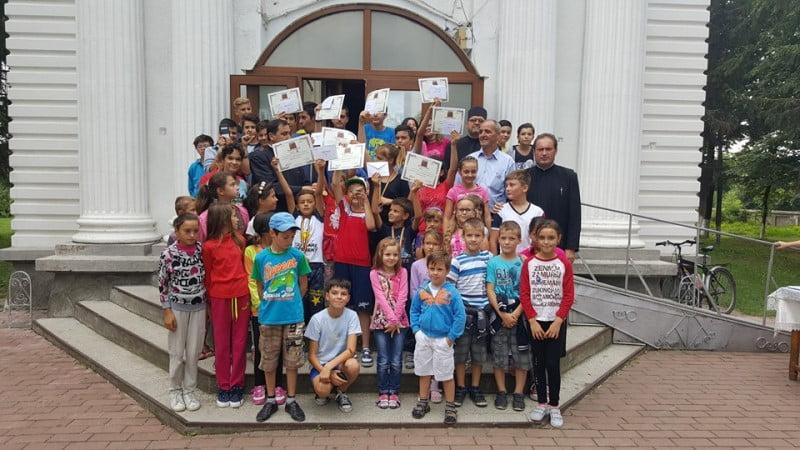 Școală de vară în Parohia Horia