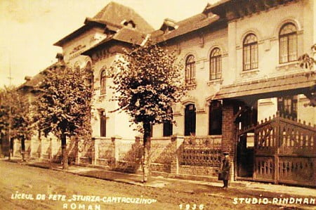 CNRV roman voda coprB liceul de fete sturza arhiva