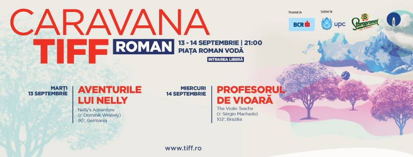 """Proiecție de filme în Piaţa """"Roman-Vodă"""""""
