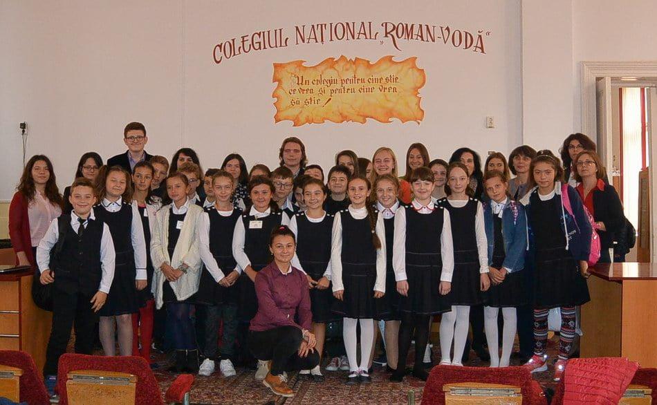 """Ziua europeană a limbilor, la """"Roman-Vodă"""""""