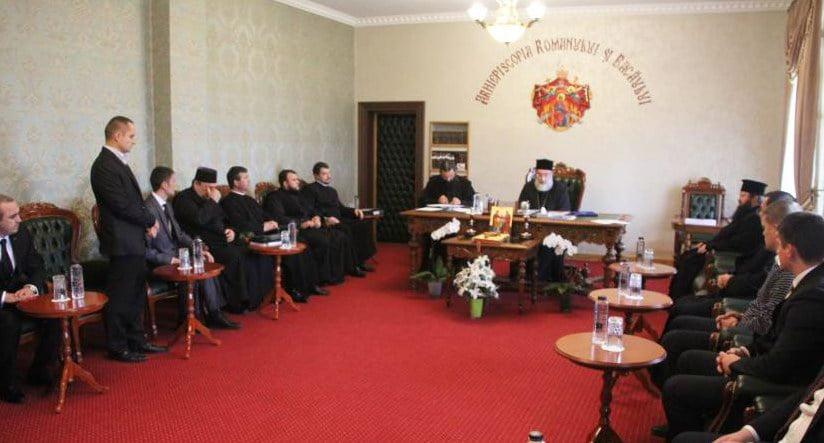Viitorii preoţi, la examen