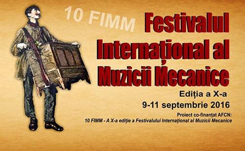 """Festivalul Internaţional al Muzicii Mecanice, la Casa Culturii """"Ion Creangă"""" Tîrgu Neamţ"""