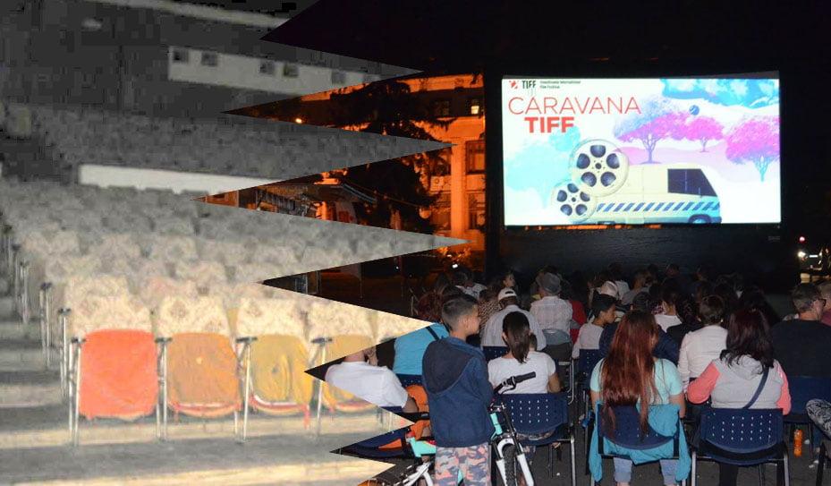 Caravana filmelor TIFF i-a fermecat pe romaşcanii care de 11 ani aşteaptă un cinematograf