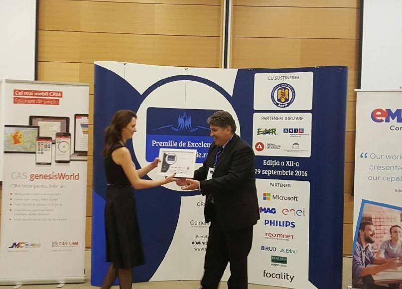 Primăria Roman, premiată la Gala Premiilor de Excelenţă Administratie.ro