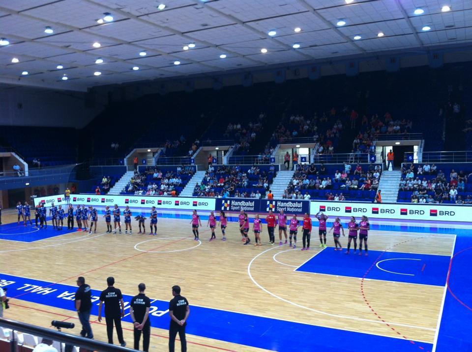 CSM Roman, învinsă de CSM Bucureşti în Supercupa României