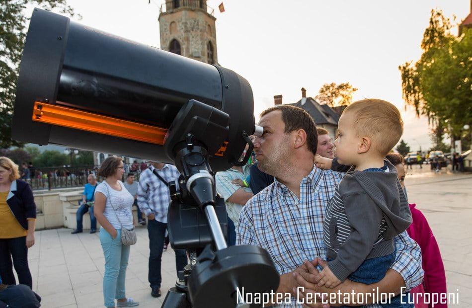 Noaptea Cercetătorilor, la Piatra Neamţ