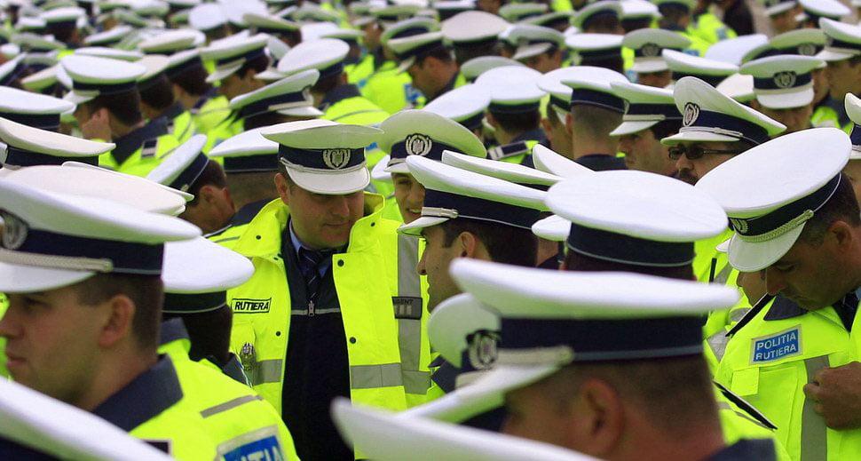 Efective mărite ale polițiștilor în minivacanța de 1 Decembrie