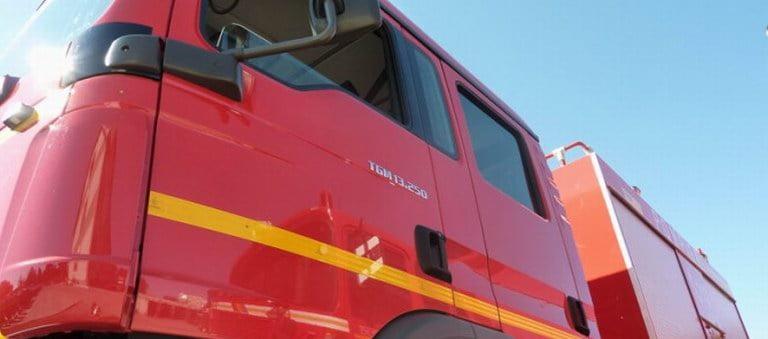 Incendiu la o hală de construcții metalice din Tămășeni