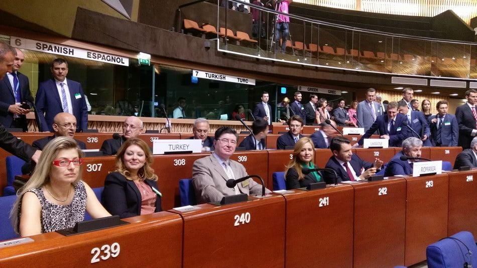 Senatorul Ioan Chelaru, la Conferinţa Europeană a Preşedinţilor de Parlamente